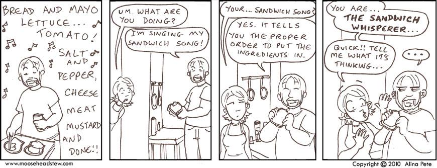 Sandwich science!!