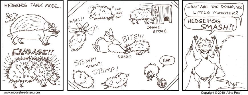 Hedgehog SMASH!!