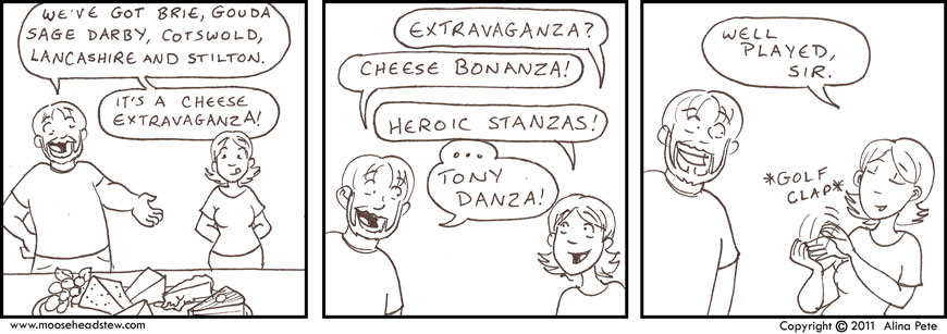 Cheese Shop Sketch?