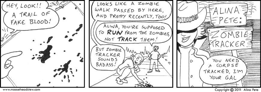 Zombie Tracker